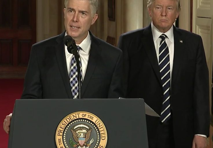 "JUSTICE GORSUCH: A ""Faithful Servant"" to the Constitution"