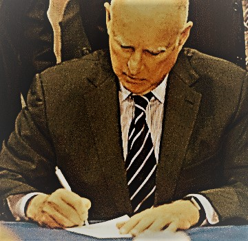 GOVERNOR BROWN READIES HIS PEN – WHAT WILL HE SIGN – OR VETO?